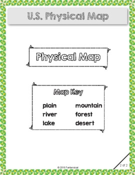 US Physical Map Activity