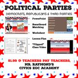 Political Parties - Democrats, Republicans & Third Parties