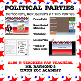 Political Parties - Democrats, Republicans & Third Parties