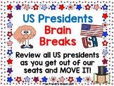 US President Brain Breaks