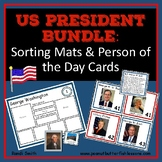 US President Bundle: Sorting Mats & Person of the Day Cards