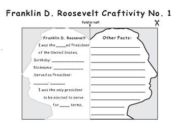 US President- Franklin D. Roosevelt Craft