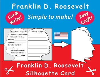 US President- Franklin D. Roosevelt Craft