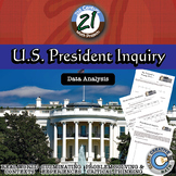 U.S. President -- Data Analysis & Statistics Inquiry - 21st Century Math Project