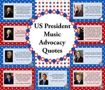 US President Music Advocacy Bulletin Board