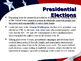 US Presidential Elections - Election of 1964 & 1968 - Johnson & Nixon
