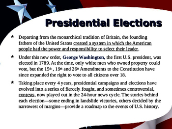 US Presidential Elections - Election of 1988 - GHW Bush