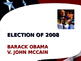 US Presidential Elections - Election of 2008 & 2012 - Obama