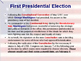 US Presidential Elections - Election of 1789 & 1792 - Washington