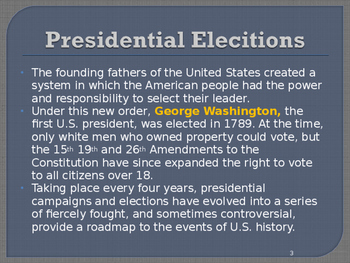 US Presidential Elections - Election of 1864 - Lincoln