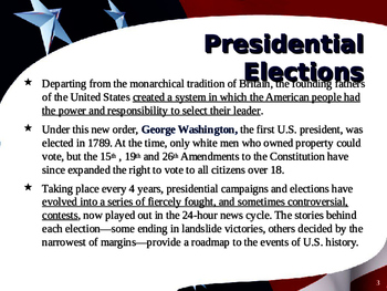 US Presidential Elections - Election of 1908, 1912 & 1916 - Taft-Wilson