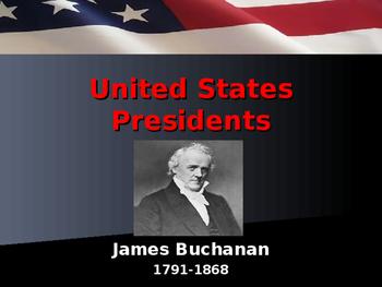 US Presidents - #15 - James Buchanan - Summary