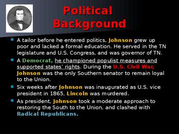 US Presidents - #17 - Andrew Johnson - Summary