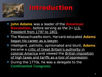 US Presidents - #2 - John Adams - Summary