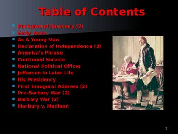 US Presidents - #3 - Thomas Jefferson - Summary