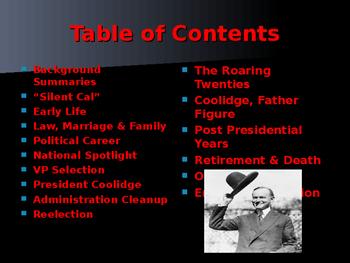 US Presidents - #30 - Calvin Coolidge - Summary