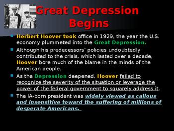 US Presidents - #31 - Herbert Hoover - Summary
