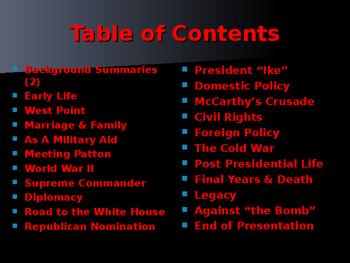 US Presidents - #34 - Dwight D Eisenhower - Summary