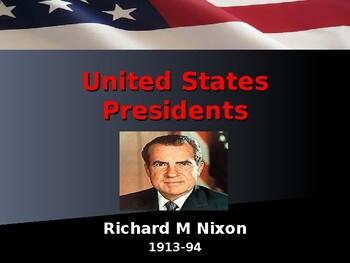 US Presidents - #37 - Richard M Nixon - Summary