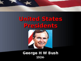 US Presidents - #41 - George HW Bush - Summary