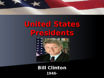 US Presidents - #42 - Bill Clinton - Summary