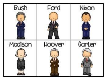 US Presidents ABC Order,