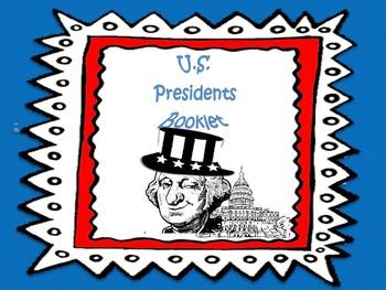 U.S Presidents Booklet