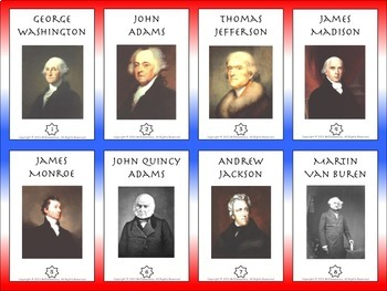 U.S. Presidents Trading Cards