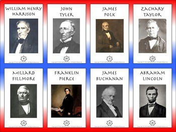U.S. Presidents Trading Cards