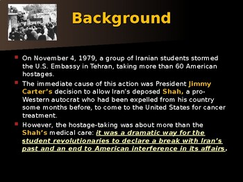 US Presidents - Carter & The Iran Hostage Crisis