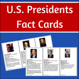US Presidents - Flash / Info Cards