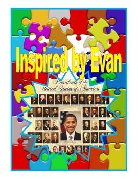 U.S. Presidents Flashcards/Neomenclature Cards for Autism