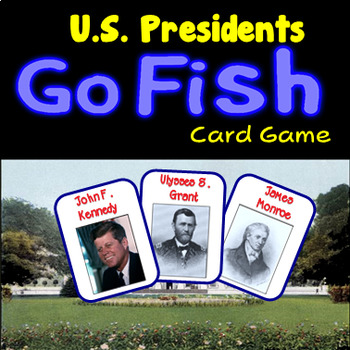 US Presidents Go Fish - 27 Cards