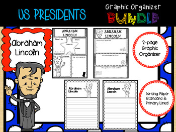 US Presidents Graphic Organizer BUNDLE