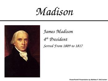 U.S. Presidents PowerPoint Presenation