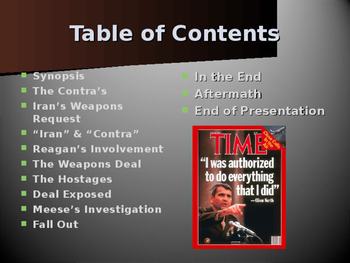 US Presidents - Reagan and the Iran Contra Affair