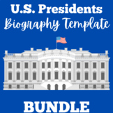 US Presidents | Research Report | Biography Templates | 1s