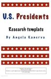 U.S. Presidents Research Template