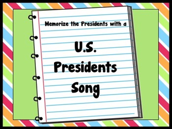 U.S. Presidents Song to Memorize the 44 Presidents