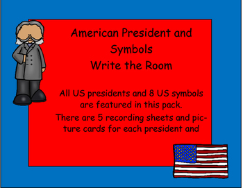 US Presidents and Symbols Write the Room
