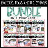 US Pride, U.S Holidays, Texas, and US Symbols Digital and