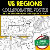 US REGIONS Collaborative Poster, US REGIONS MAPPING Activi