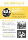 US Race Riots 1965-68 Five Minute Fact File