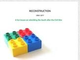 U.S. Reconstruction LEGO Activity