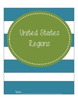 U.S. Regions Blank Map