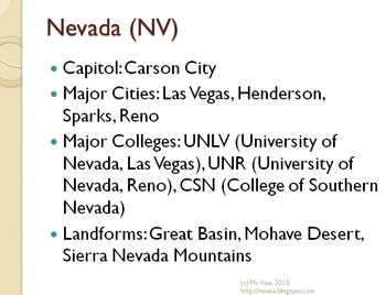 US Regions Introduction and Intermountain Region PPT