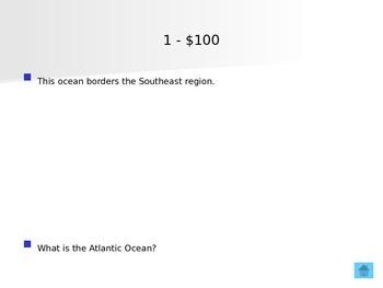 U.S. Regions Jeopardy Review