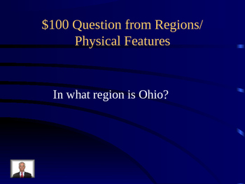 US Regions Jeopardy Review Game (Editable)