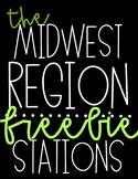 US Regions   Midwest Region   FREEBIE!