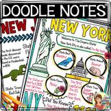 US Regions: Northeast Region Doodle Notes, Posters, Powerpoint & Passages